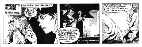 HOLDAWAY, JIM - Modesty Blaise daily #2406 Comic Art