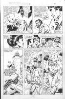 VOSBURG, MIKE - Ms Marvel #25 pg 14, pre-Avengers Ann #10, Carol, Hellfire Club 1979 Comic Art