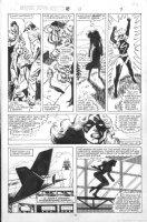 VOSBURG, MIKE - Ms Marvel #25 pg 7, pre-Avengers Ann #10, Carol into Ms Marvel 1979 Comic Art