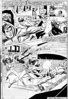 VOSBURG, MIKE - Secret Society of Super-Villains #11 page 2 Wonder Woman, JLA splash Comic Art