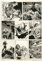 VOSBURG, MIKE - Vampire Tales #8 mag. pg 12,  Morbius, the Living Vampire 1974 Comic Art