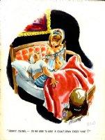 HOEST, BILL - Playboy cartoon in full color! Comic Art