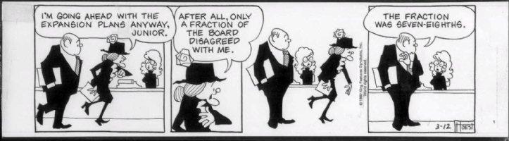 HOEST, BILL - AGATHA CRUMM 3/12 1980 Comic Art