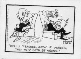 Hoest, Bill - Lockhorn daily 12-9-1979 Comic Art