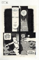 SIM, DAVE with GERHARD - Cerebus #84 pg 16, Cerebus beaten by Countess Michelle - Sacred Wars  1986 Comic Art