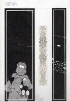 SIM, DAVE - Cerebus the Aardvark #157 pg 17, full page splash panel of Cerebus Comic Art