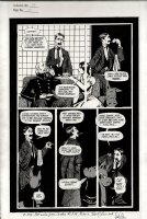 SIM, DAVE - Cerebus #35 pg 16,   High Society  - Cerebus, Astoria, Lord Julius aka Groucho Marx Comic Art