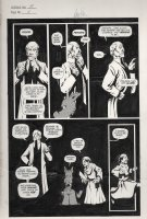 SIM, DAVE - Cerebus #39 pg 5, Cerebus and his advisor try to figure out Lord Julius' strategy…aspirin, anyone? Comic Art