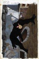 SIM, DAVE / GERHARD background - Cerebus #81 cover, ink & paint cover, Cerebus & Spider-Roach, Secret Wars satire Comic Art