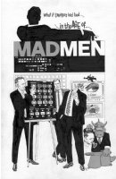 SIM, DAVE - Cerebus final story - Glamourpuss #18 splash, Cerebus in the Age of Madmen Comic Art