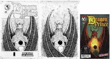 PETERSEN, DAVID - Dragon Prince #4 NY Con edition cover, Eisner Award winner Mouse Guard Comic Art