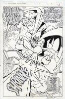 SAVIUK, ALEX - Spider-Man Adventures #11 page 3, killer splash and title page with full shot of Hobgoblin  Comic Art