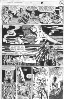 SAVIUK, ALEX - Web of Spiderman #89 pg 2, Son of Kingpin Comic Art