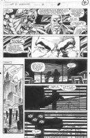 SAVIUK, ALEX - Web of Spiderman #89 pg 4, Son of Kingpin Comic Art