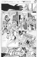 SAVIUK, ALEX - Web of Spiderman #89 pg 6, Peter Parker & Mary Jane at hotel Comic Art