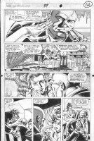SAVIUK, ALEX - Web of Spiderman #89 pg 12, New Kingpin & bride to be Comic Art