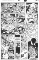 SAVIUK, ALEX - Web of Spiderman #89 pg 30, Spidey, New Kingpin killed? by Blood Rose Comic Art