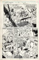 SAVIUK, ALEX - Web of Spider-Man #67 pg, Spidey saves Green Goblin 2 / Harry Osborne  Comic Art
