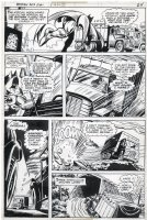 CHAN, ERNIE - Batman #282 pg 14, Batman trucking 1976 Comic Art