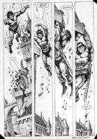 CHAN, ERNIE - Conan Annual #10 page 1985 Comic Art