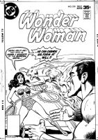 BUCKLER, RICH - Wonder Women #238 cover, alternate first version Comic Art