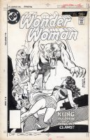 BUCKLER, RICH - Wonder Women #238 cover, Golden Age Wonder Woman battles Kung Comic Art