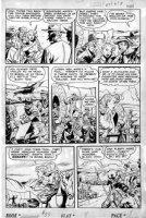 SCHROTTER, GUS (Iger Shop) - Rangers #57 page 8, Firehair Comic Art