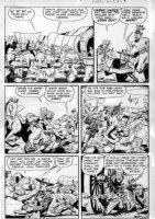 SCHROTTER, GUS (Iger Shop) - Rangers #57 page 9, Firehair Comic Art