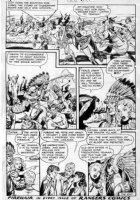 SCHROTTER, GUS (Iger Shop) - Rangers #57 last page, Firehair Comic Art