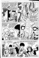 STATON, JOE / MAYERICK - Fallen Angels #6 pg 3 Comic Art