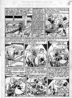 ELDER, BILL - Panic #7 pg 5 (Mad's sister comic),  Mel Palooka  boxing scene Comic Art