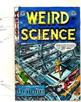 SEVERIN, MARIE - WALLY WOOD' Weird Science #20 cover color art - 50 Girls 50 Comic Art
