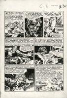 DAVIS, JACK - Haunt of Fear #9 large pg 6, Monkey Paw adaption Comic Art