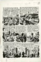 DAVIS, JACK - Vault of Horror #27 large pg 3, classic conjoined-twin story w/ CRYPT KEEPER Comic Art