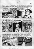 CRAIG, JOHNNY - Vault of Horror #36 pg 6, Digging up murdered wife's grave Comic Art