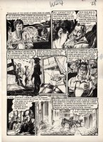 INGLES, GRAHAM - Tales from the Crypt #27 pg 4, the terror of the French guillotine!  Comic Art
