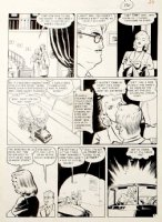 WOOD, WALLY / HARRY HARRISON - Modern Love #8 pg 4 of complete 6 page large art story, 1950 Comic Art