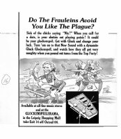 DAVIS, JACK (retired) - Mad #222 splash page, Music for Frauleins Comic Art