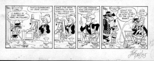 DAVIS, JACK (retired) - Marshall Dullard tryout daily, 1960 Comic Art
