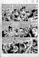 DAVIS, JACK (retired) - Tales From The Crypt #29 2up pg 3, Grounds...For Horror Comic Art