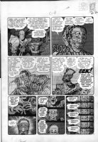 DAVIS, JACK with Harvey Kurtzman layouts - Mad #14 large pg 4,  Comic Art