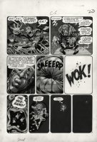 DAVIS, JACK with Harvey Kurtzman layouts - Mad #14 large pg 5,  Comic Art