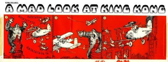 ARAGONES, SERGIO - Mad #192 daily-style gag -  Comic Art