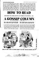 Woodbridge, George - Mad #63 pg 1 - LASSIE - Gossip Column Comic Art