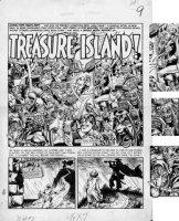 SEVERIN / EC JAM: INGELS, DAVIS, CRAIG / Kurtzman layouts - Mad comic #7 pg 1 splash, Old Witch, Crypt & Vault Keeper, Tarzan + Comic Art