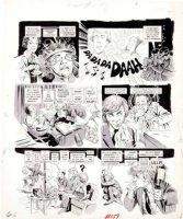 WOODBRIDGE, GEORGE - MAD Magazine #159 George Woodbridge MAD Magazine #159 film satire story  A Crockwork Lemon  pg 6 1973 Comic Art