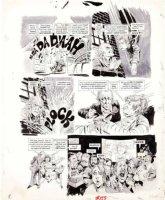 WOODBRIDGE, GEORGE - MAD Magazine #159 George Woodbridge MAD Magazine #159 film satire story  A Crockwork Lemon  pg 8 1973 Comic Art