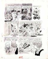 WOODBRIDGE, GEORGE - MAD Magazine #159 George Woodbridge MAD Magazine #159 film satire story  A Crockwork Lemon  pg 3 1973 Comic Art