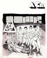 WOODBRIDGE, GEORGE - MAD Magazine #159 George Woodbridge MAD Magazine #159 film satire story  A Crockwork Lemon  pg 1 1973 Comic Art