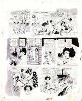 WOODBRIDGE, GEORGE - MAD Magazine #159 George Woodbridge MAD Magazine #159 film satire story  A Crockwork Lemon  pg 4 1973 Comic Art
